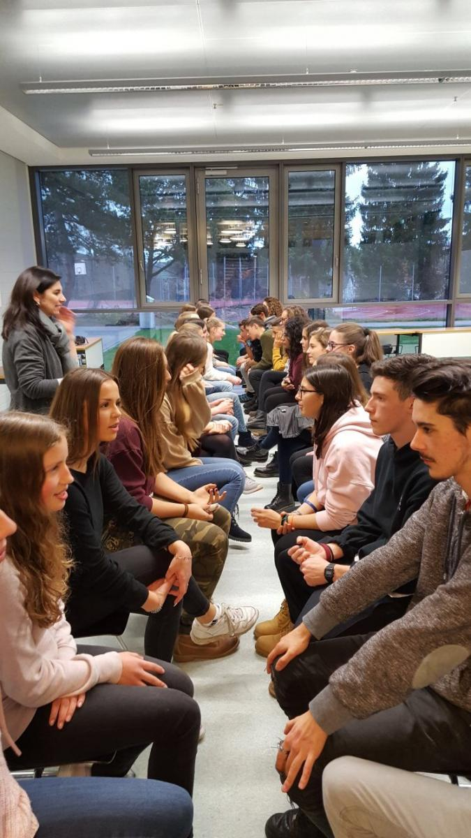 Speed Dating in lingua